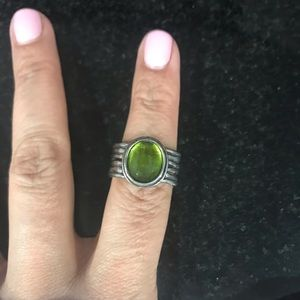 Green Silpada Ring